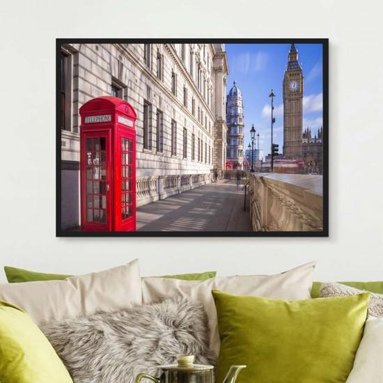 Лондон символика  - Фото пано, Принт в рамка