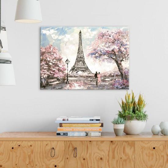 Айфелова кула картина пролет от париж