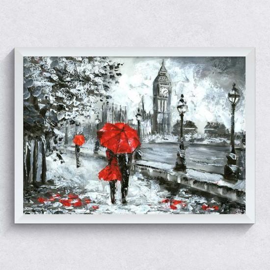 Разходка в дъждовен Лондон