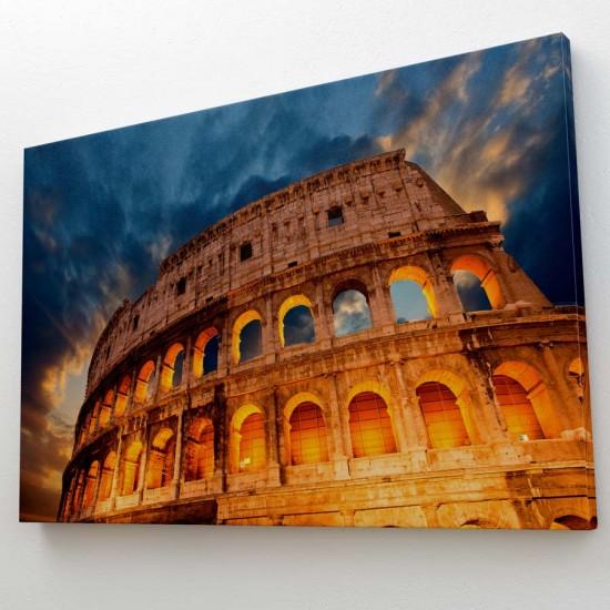 Колизеумът в Рим арт пано в рамка