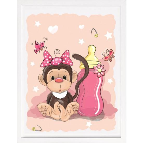 Детска Картина Бебе маймунка