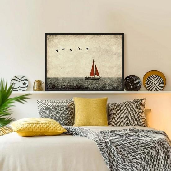 Картина, постер в рамка за стена Посока - Фото арт