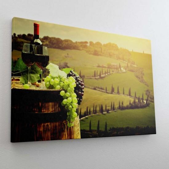 Хармония с вино - фото картина