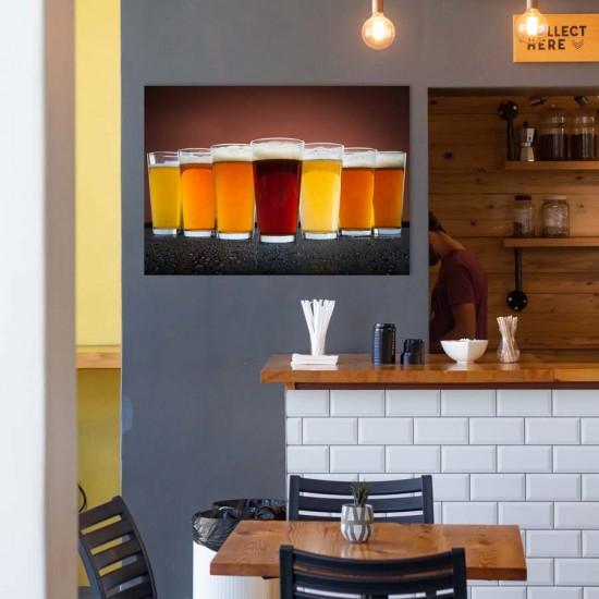 Цветовете на бирата - Арт принт