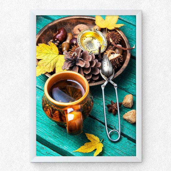 Есен и чай - фото принт