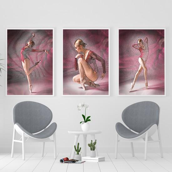 Картини балерини три части