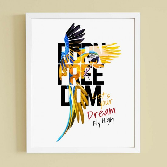 Born freedom - Картина за декорация