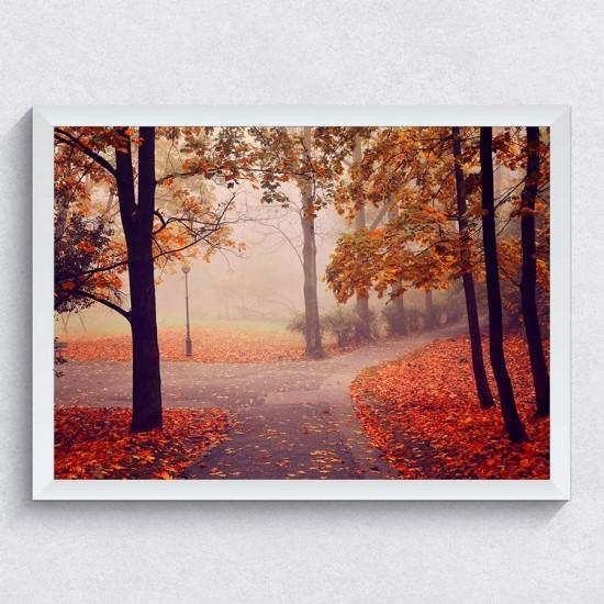 Късна есен - фото картина с пейзаж