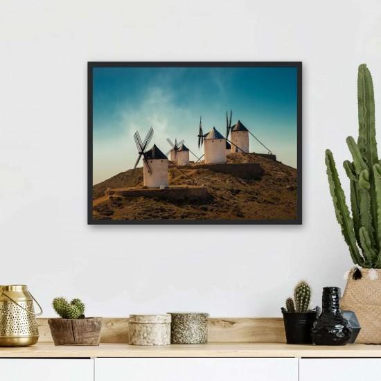 Вятърни мелници - фото картина