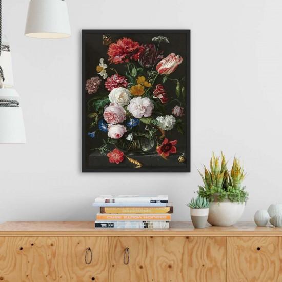 Натюрморт с цветя , Ян Давидс де Хем - Арт пано