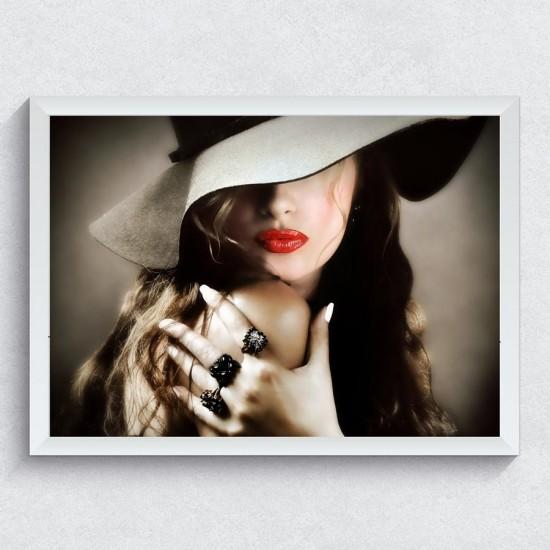 Шармантна целувка - Арт пано в рамка или канава