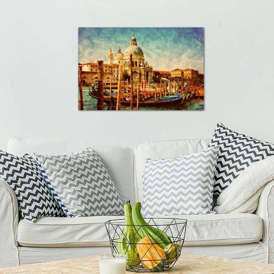 картина гондоли във венеция