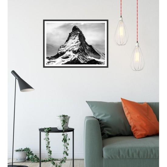 Картина Връх Матерхорн - Принт в рамка