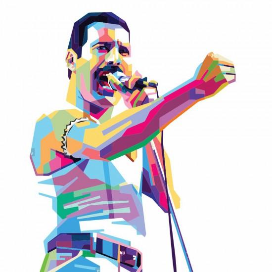 Freddie стикер за стена Фреди Меркюри