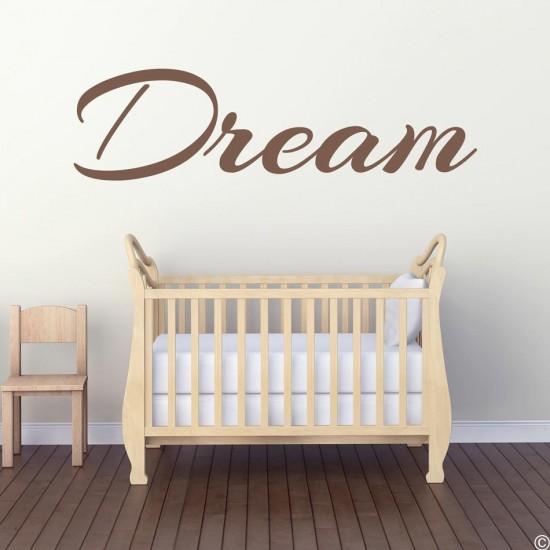 Dream - Мечта стикер за стена с надпис