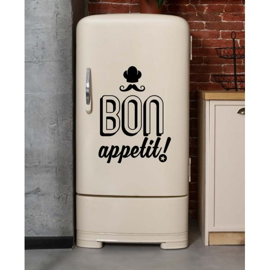 стикер Надпис за стена Bon Appetit 3