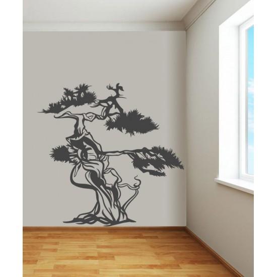 стикер дърво азия