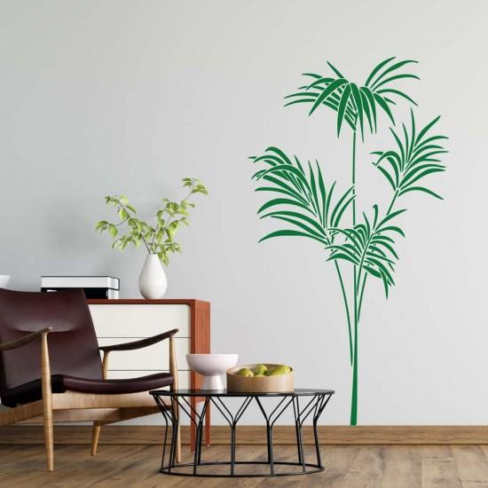 Палмови клонки - стикер за стена