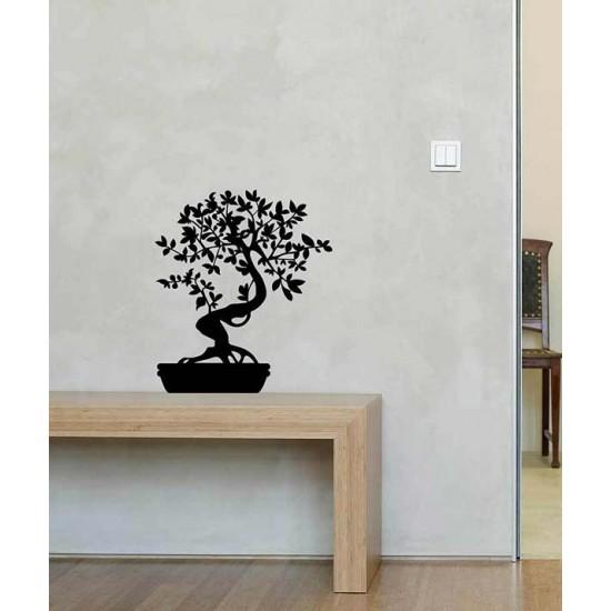 стикер за стена бонсай