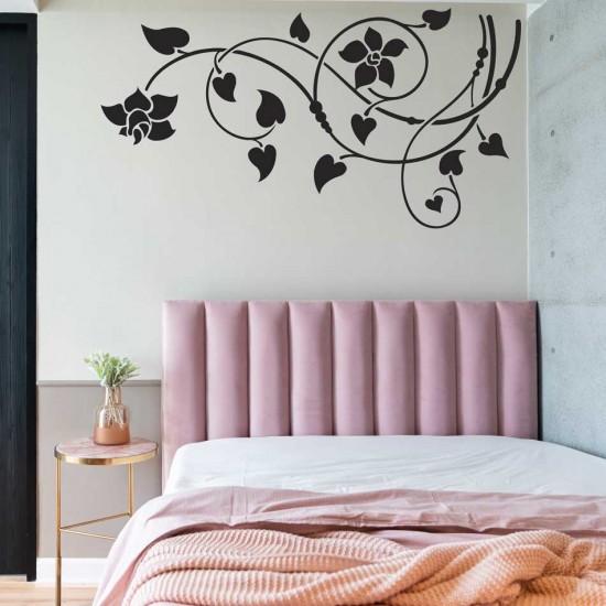 Декоративен орнамент с лилии
