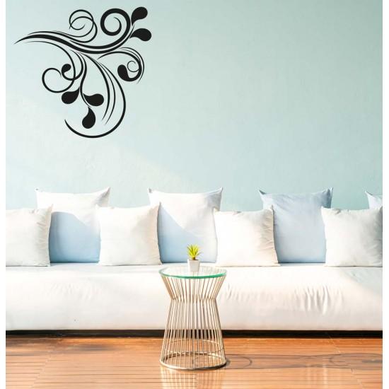 Орнамент Капки плетеница - стикер за стена
