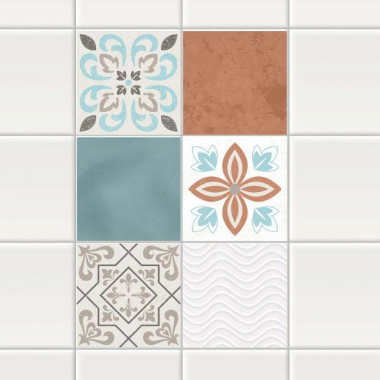 Орнамент Тарра - стикери за плочки