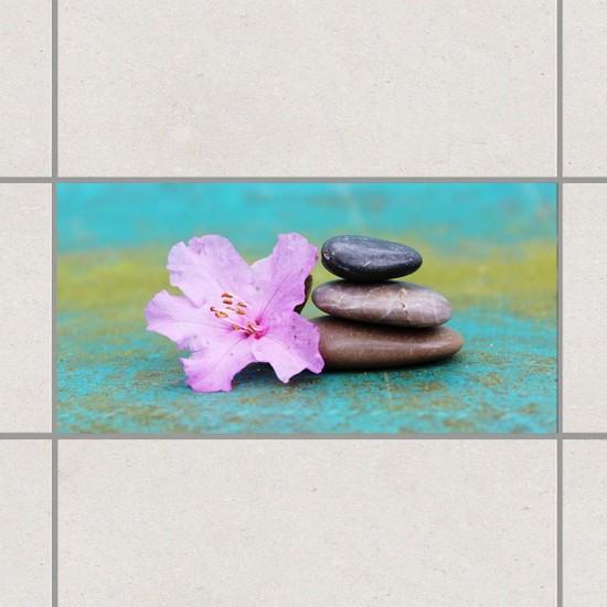 Дзен камъчета - стикери за плочки