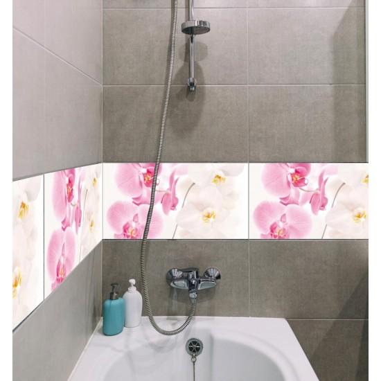 стикери за плочки с орхидея