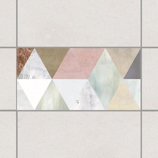 стикери за плочки с триъгълници