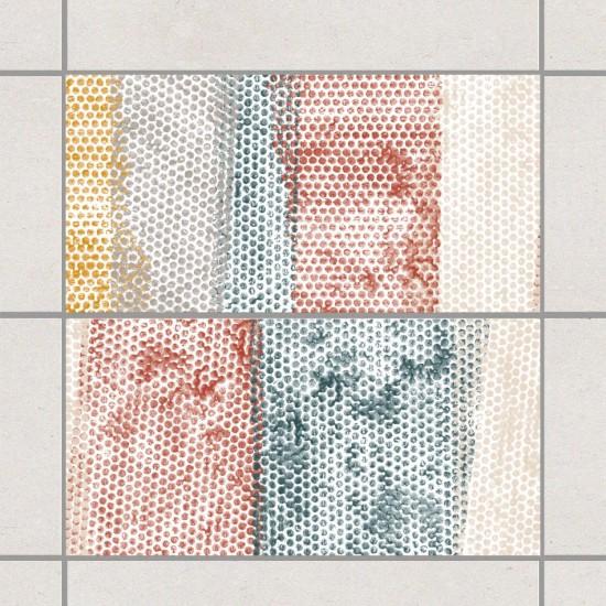 Цветни точки -  стикери за плочки