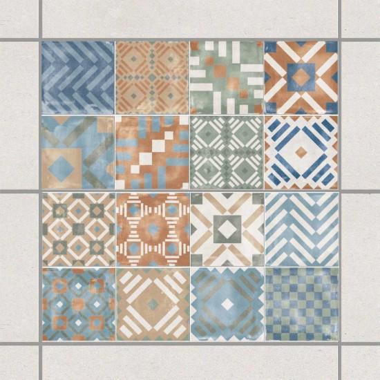 Лабиринт - стикери за плочки