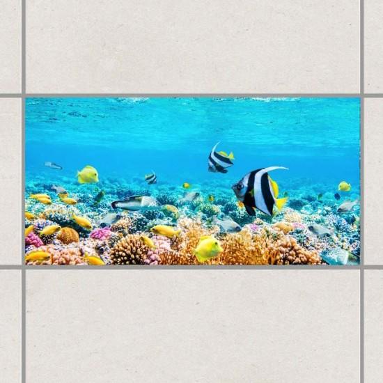 Морско дъно - стикери за плочки