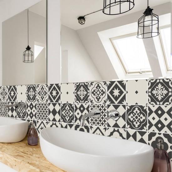 стикери за плочки в баня и кухня